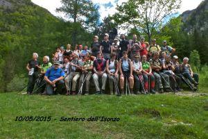 sentiero dell'Isonzo