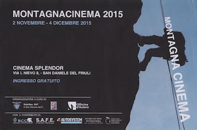 MONTAGNA CINEMA 2015