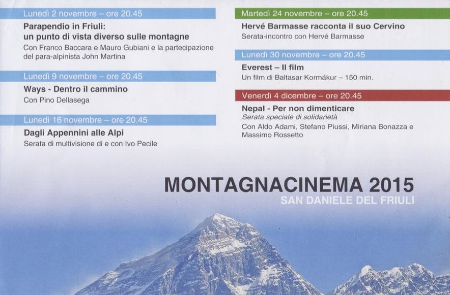 montagna cinema retro